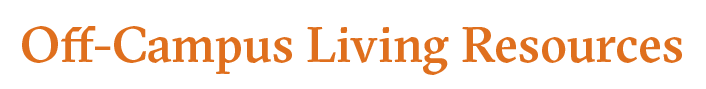 Off-Campus Living Resources logo