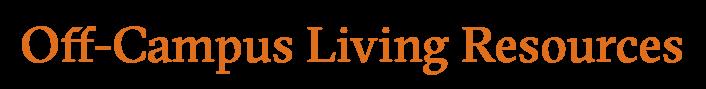 Off-Campus Living Resources logo